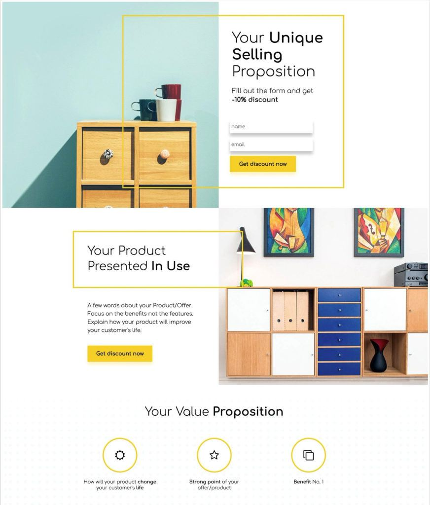 e-commere-landing-page-template-wordpress