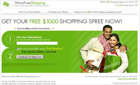 Free 1000$ shopping