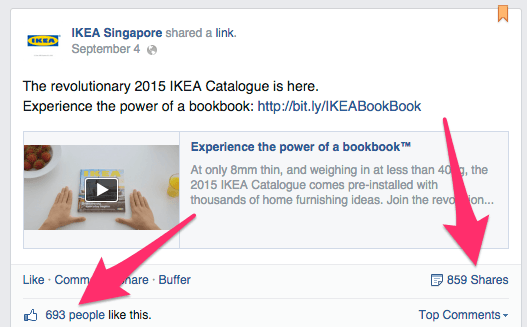 Jak stworzyć kampanię viralową - Ikea bookbook