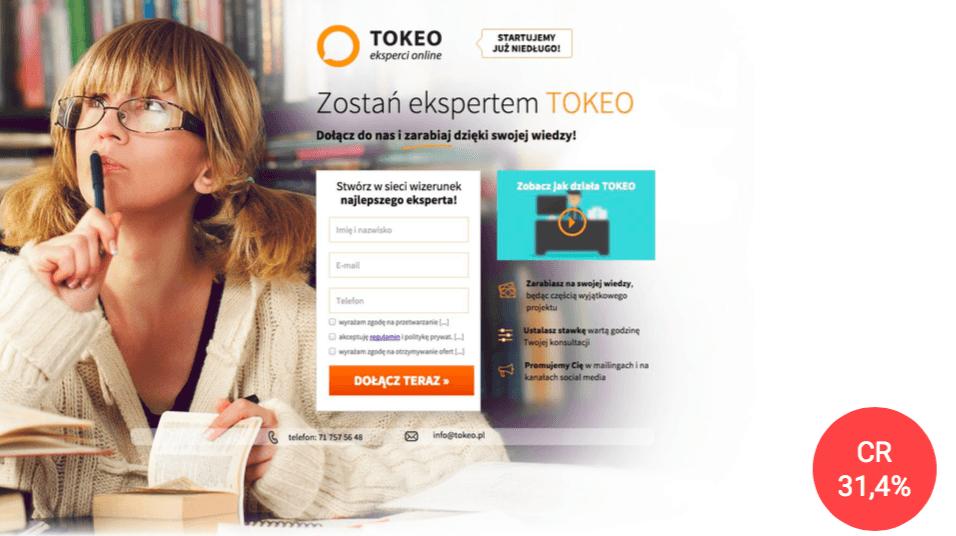 landingi tokeo case study personalization 3