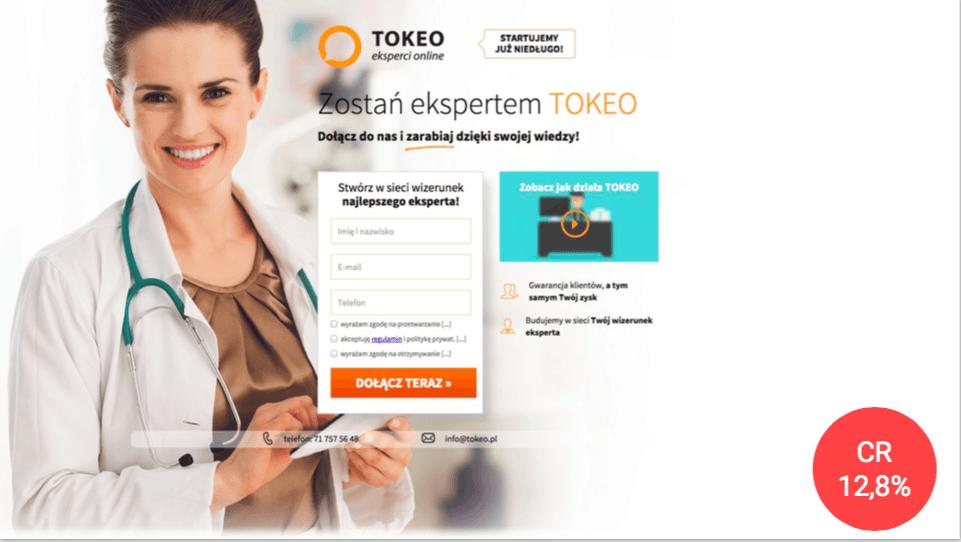 landingi tokeo case study personalization 2