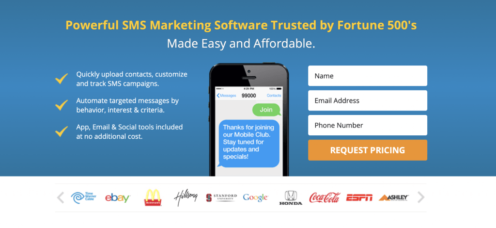 SMS Marketing Banner