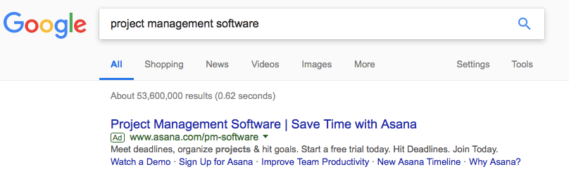 Google Search Management Software