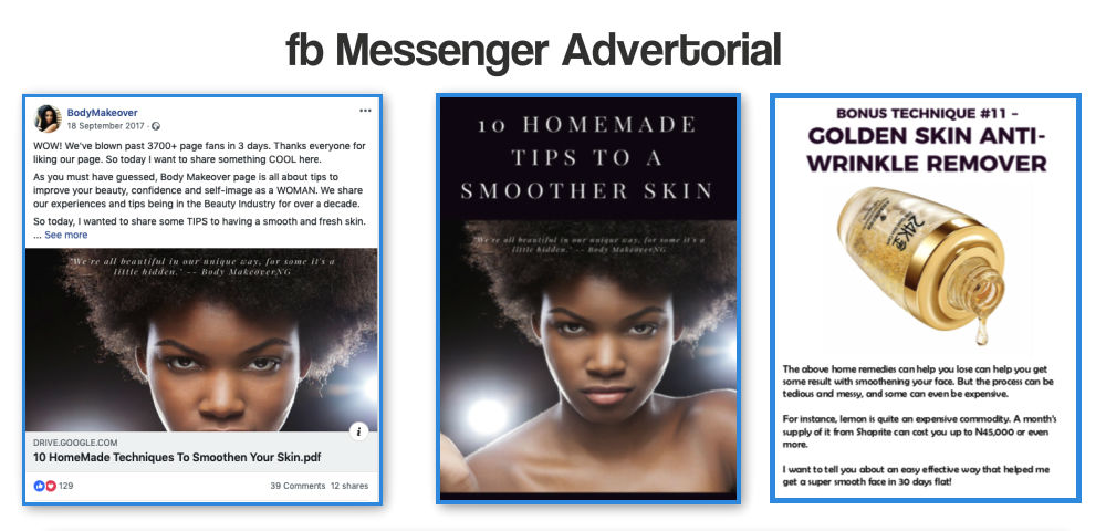 Messanger Advertorial