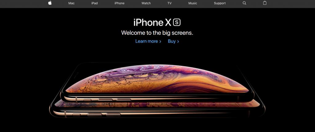 Apple Iphone Landing Page