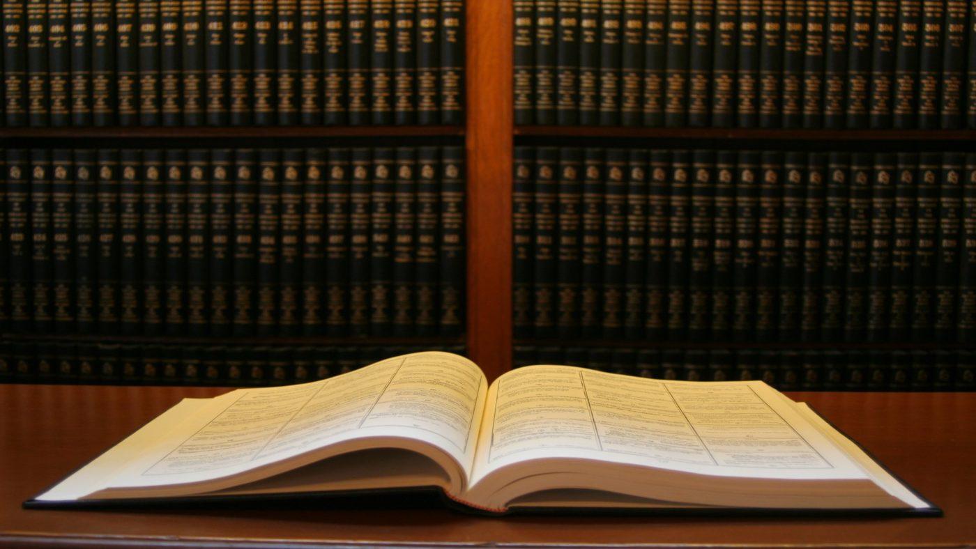Book in alibrary