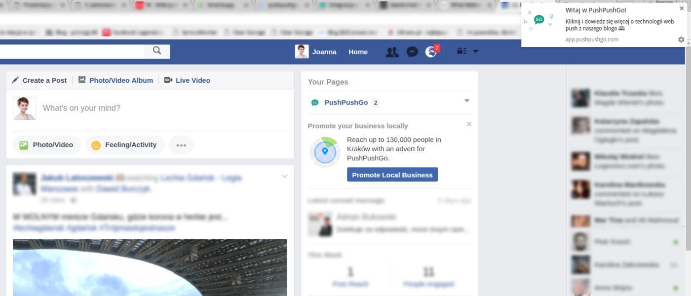 web-push-facebook-powiadomienie
